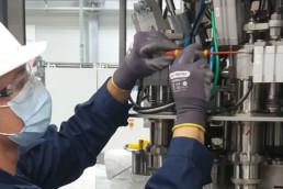 Inervention maintenance machine ATEX