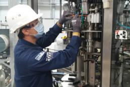 Inervention maintenance machine de remplissage PACK'R